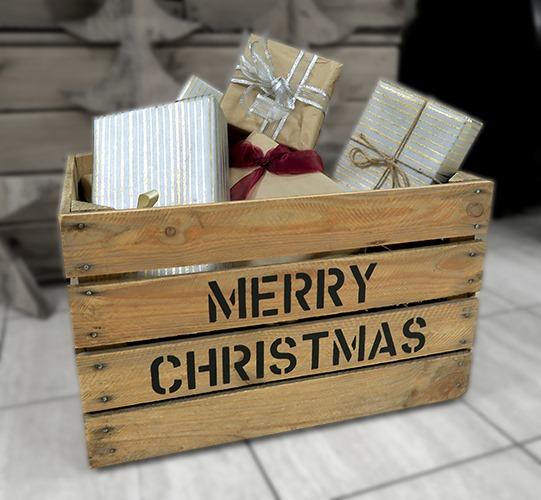 Kerstpakket kistjes
